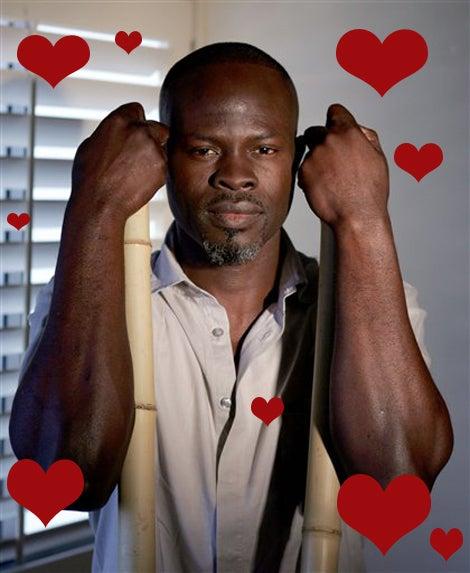 """What Are You Doing Tonight?"" —Djimon Hounsou"