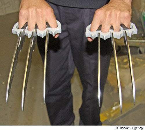 DIY Wolverine Claws Seized During Postal Crackdown