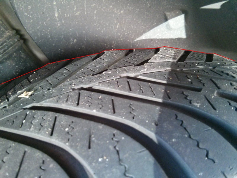 2 new tires? Nope, 8 (!!)