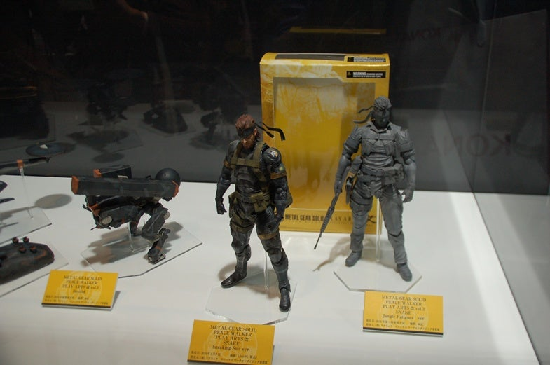 A Look At Square Enix's Metal Gear Solid: Peace Walker Figures