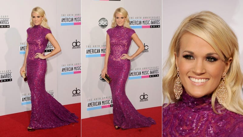 Glittery Gowns and Hideous Hair at the American Music Awards