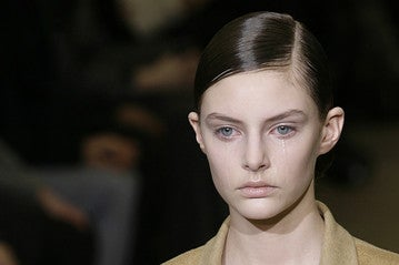 Weeping Milan Model Gets No Sympathy From Jil Sander