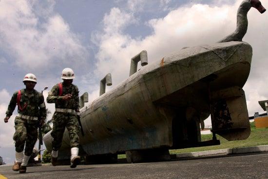 Narco Submarine Deep Sixed Near Colombian Border