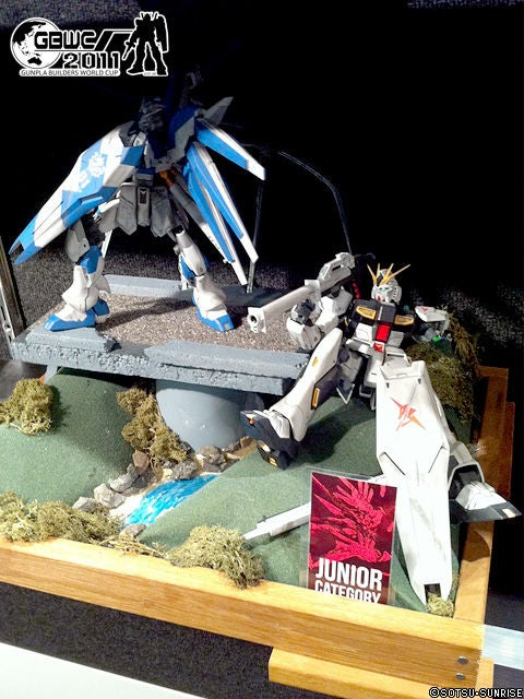 Some of the World's Best Young Gundam Model Makers