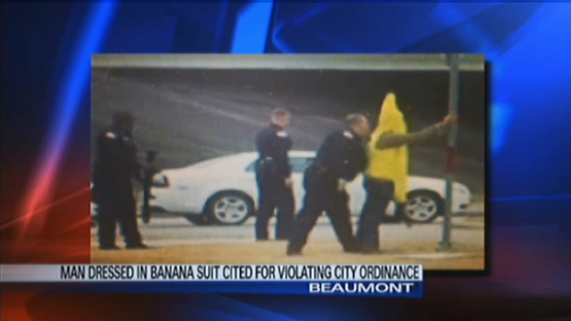 Banana-Wearing Man Busted With AK-47, 50-Round Magazine