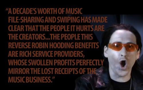 Bono, You Got It All Wrong