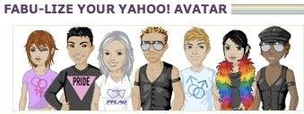 Yahoo's gay avatars