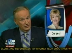 Bill O'Reilly Confronts The Menace Of Women Saying Bad Words On TV
