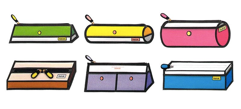 These Cartoon Drawings Are Actual Pencil Cases