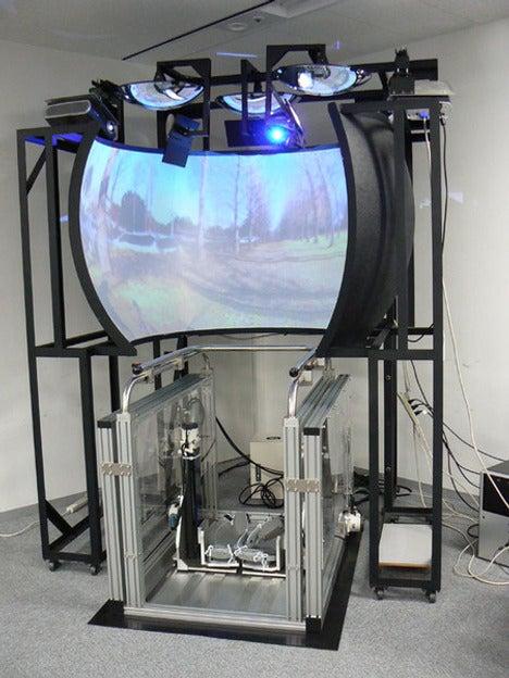 VR Treadmill Makes Running Indoors Feel Like Running Outdoors