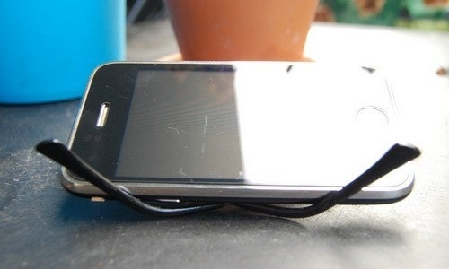 Use Your Glasses as an Impromptu Smartphone Stand