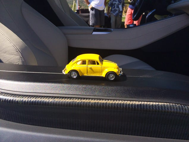 Traveling Torchbug visits Monterey