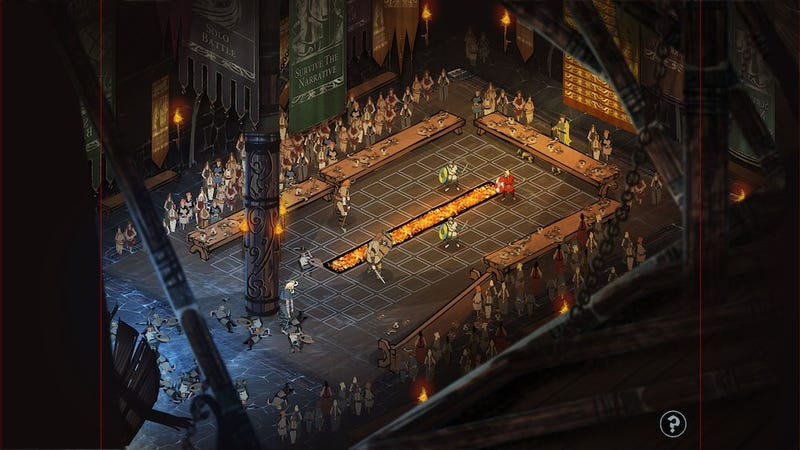 An Early Look At Combat In The Banner Saga