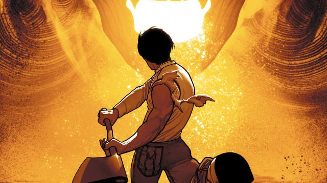 In DC Comics' Xombi, a nanotech-infused immortal fights the wrath of God...with an ax