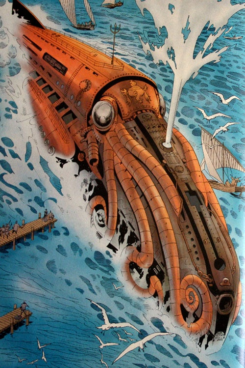 14 Super Submarines That Took Science Fiction Under The Sea