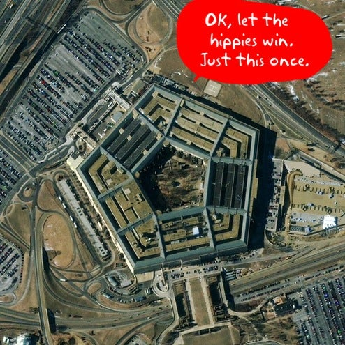 Pentagon Goes Green With 4,000 LED Installation