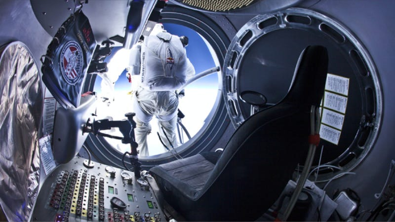 Felix Baumgartner is about to attempt the most ambitious skydive in history — watch it here (UPDATED)