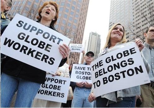 Boston Globe Readies Futile Contract War