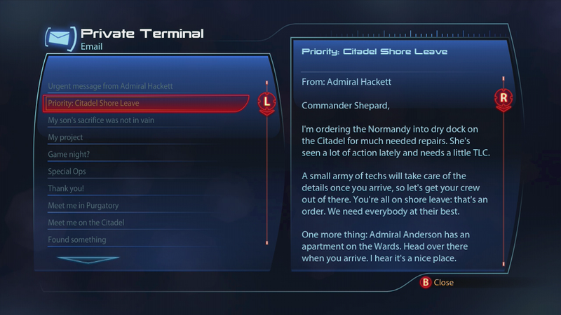 How To Start Mass Effect 3's Citadel DLC