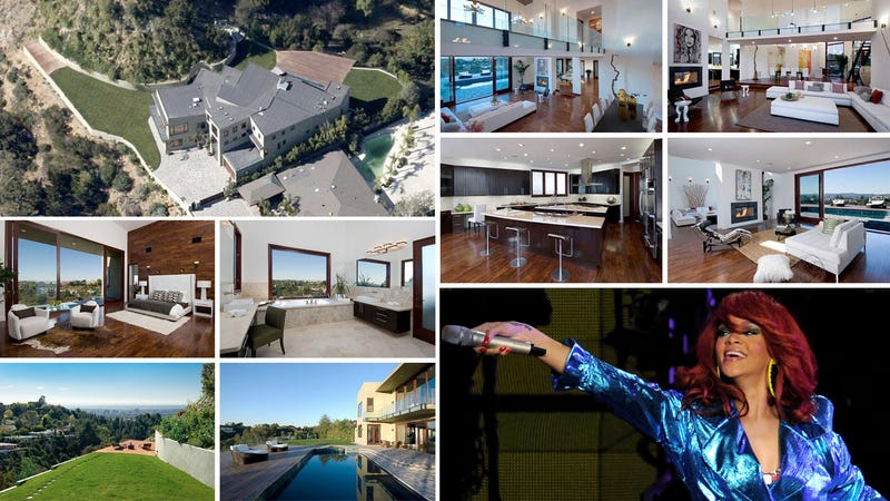 Rihanna Lists Her Terribly Built Home