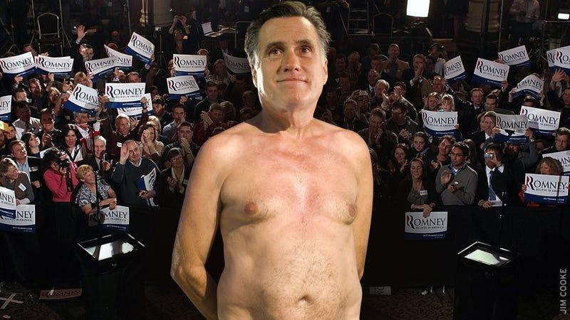Romney's Latest Boner: The Emperor Has No Clothes, No Plans and No Excuses