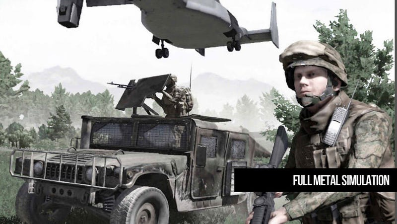 This Military Simulator is a Match Made in Heavy Metal Heaven