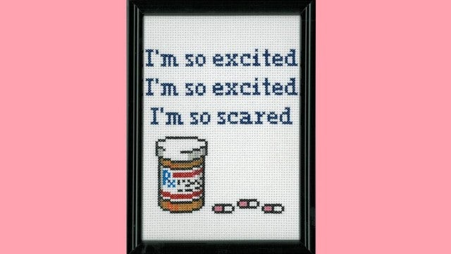 Jessie Spano Immortalized Forever In Cross Stitch