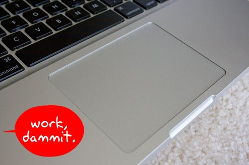Stevemail Promises Software Fix for Glitchy MacBook Trackpads