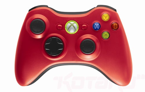 Red and Green Limited Edition Xbox 360 Controllers Coming in September