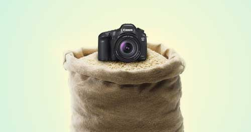 Use Bags of Rice or Beans to Stabilize Your Camera