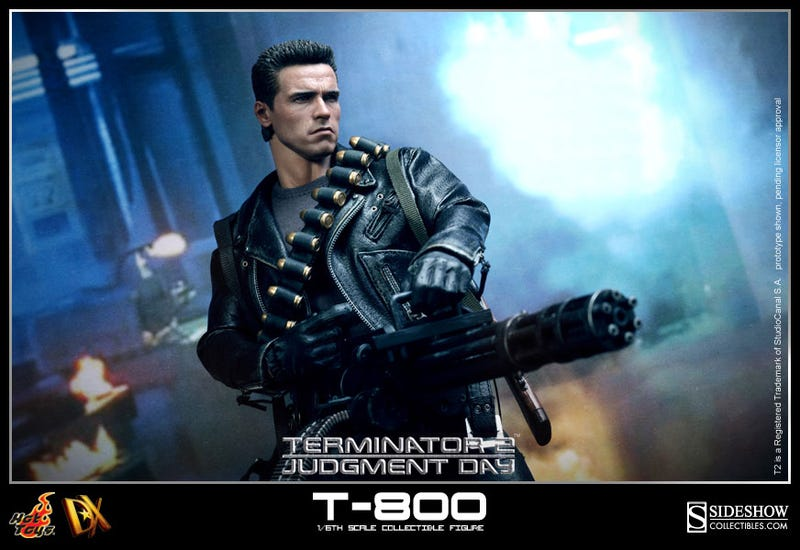This Terminator Figure Looks so Real It'll Ask For Your Clothes, Boots & Motorcycle