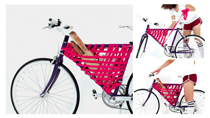 A Single Strap Can Turn Your Bike's Frame Into a Basket