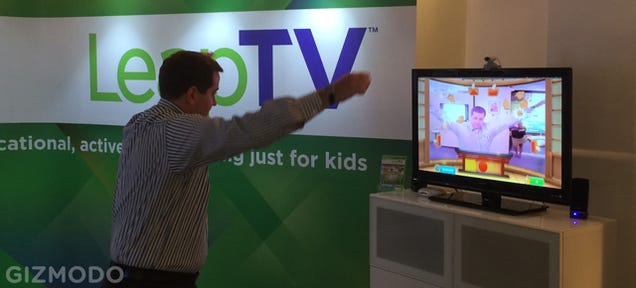 LeapFrog LeapTV: A Wii-Plus-Kinect Mashup For Kids