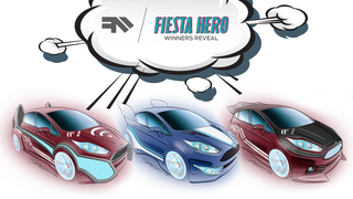 Hot Wheels Designer Gives the Superhero Treatment to the Ford Fiesta