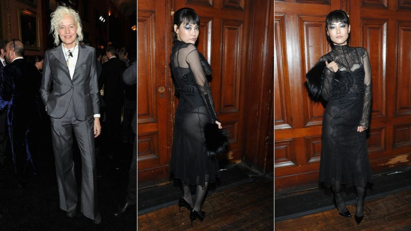 Celebs Wear Fancy Clothes To Celebrate Naked Ladies