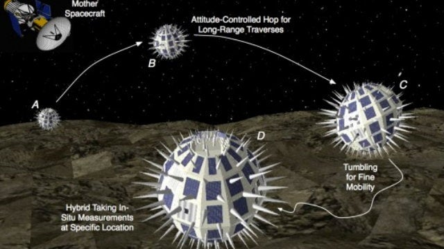 "NASA's Developing Robotic ""Hedgehogs"" to Explore a Martian Moon"
