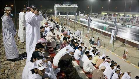 Thanks, Sheik: Legal Drag Racing at Umm al Qaywayn!
