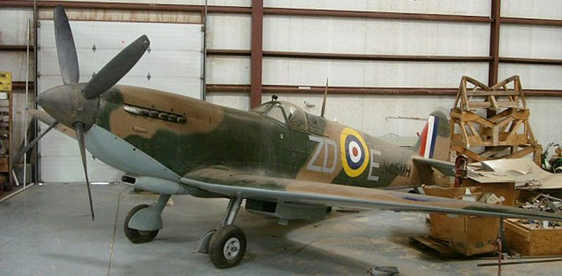 Barn Find: 1943 Vickers Supermarine Spitfire IXb.