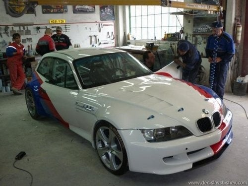 V10-Powered BMW M Coupe