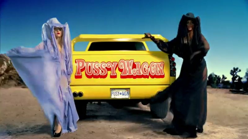 Pussy Wagon Stars In New Lady Gaga Music Video