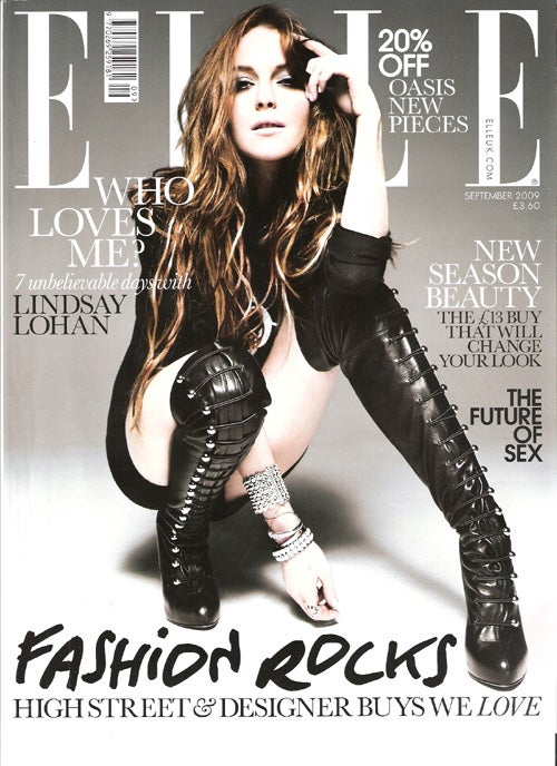 "Lindsay's Elle Shoot ""Confusing, Unpredictable""; Chris Brown To Apologize On TV?"