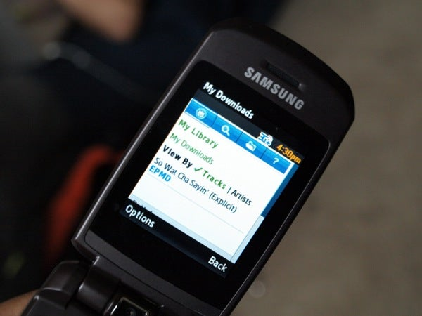 Samsung SLM A747, First With Napster Service, Reviewed