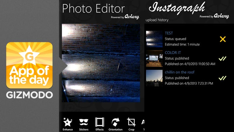 Instagraph: Your Instagram Workaround for WP8