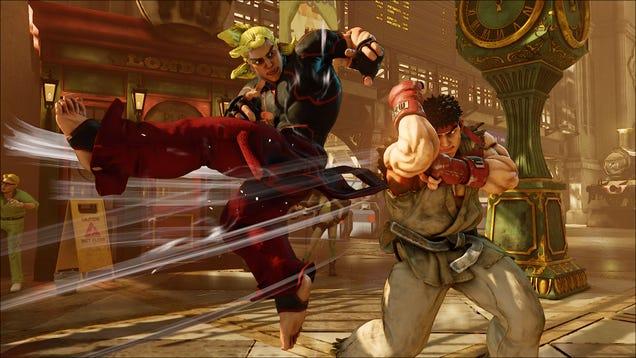 Street Fighter's Ken Has Been Redesigned