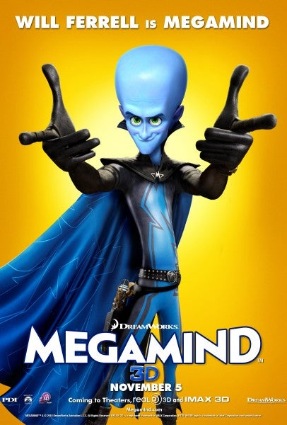 Megamind Poster Gallery