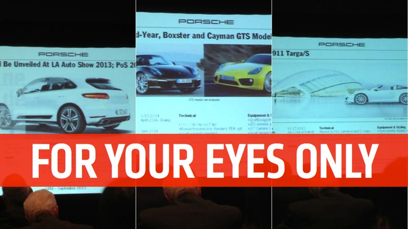 Insider Leaks Every Important Upcoming Porsche Reveal