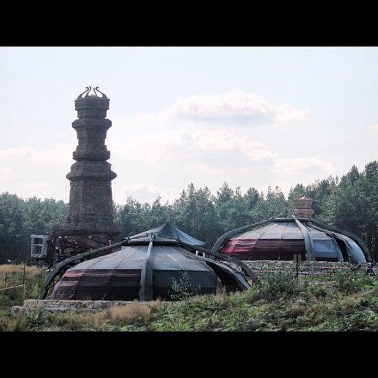 Thor: Darkworld Set Photos