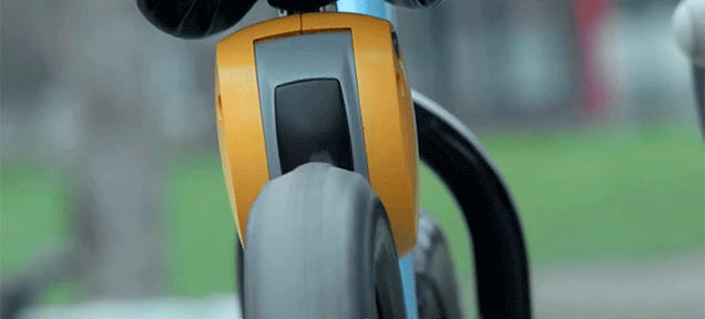 A Remote Control Brake That Stops a Kid's Bike In Its Path