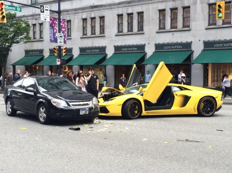 Another Aventador Bites The Dust [Vancouver, BC]