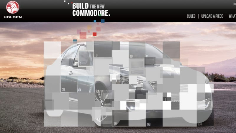 Who Can Put The New Holden Commodore Together?